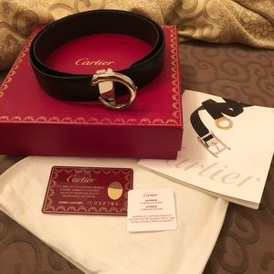 Cartier Panthere Black Belt